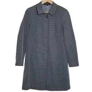 MARIO SERRANI Women's Coat Long Button Down Dressy